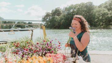 Les bottes d Anemone   Rosa Event Design   Cathy Marion   Tiphaine Fleurs port